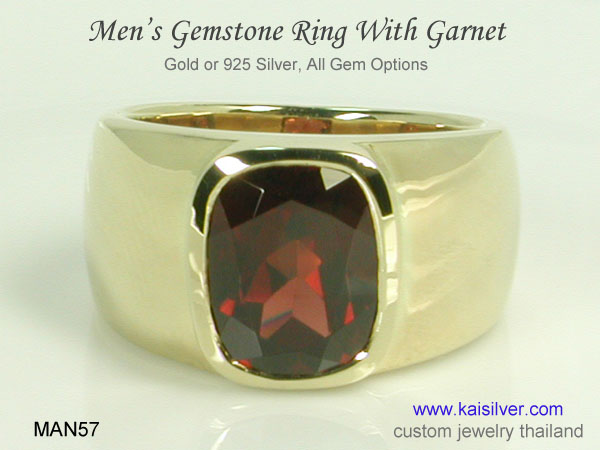 birthstone rings for men