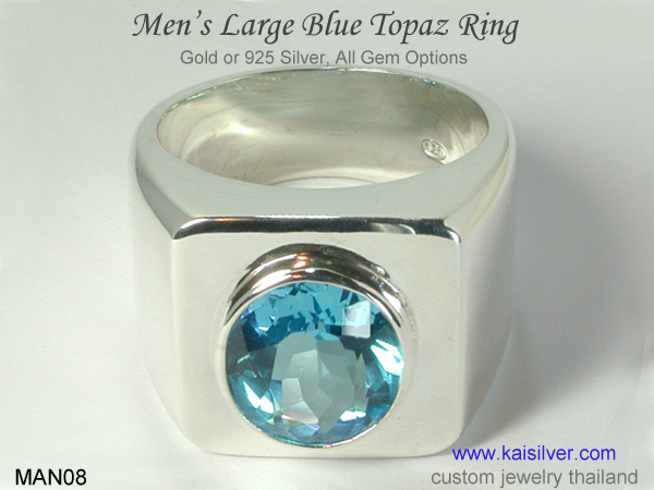 big ring for men