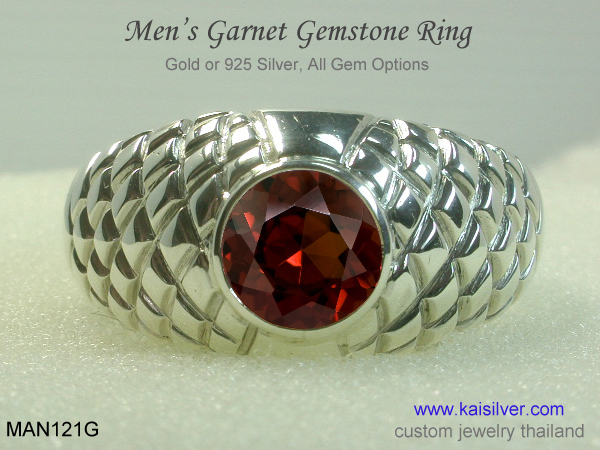 men's big ring