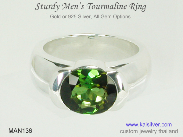big gemstone for men