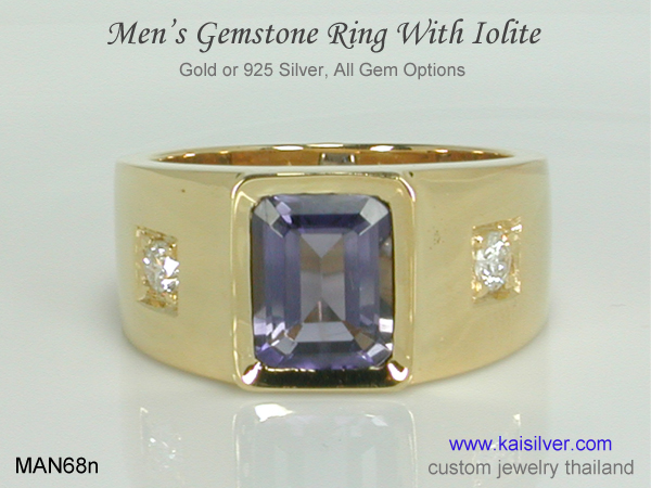 large ring for men